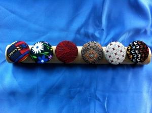 Hair Ties, made from Ties!